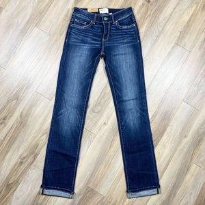 NWT BKE Stella Straight Low Rise Dark Wash Jeans